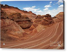 The Wave Center Of The Universe Acrylic Print by Bob Christopher