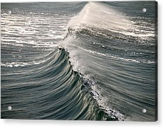 The Wave Acrylic Print by John Babis