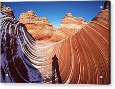 The Wave Acrylic Print by Piriya Photography