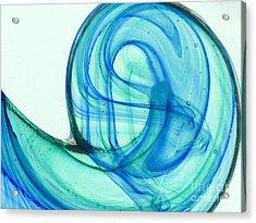 The Wave Acrylic Print by Ranjini Kandasamy