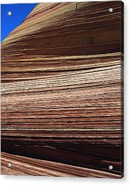 'the Wave' North Coyote Buttes 06 Acrylic Print