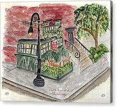 The Waverly Inn And Garden Acrylic Print