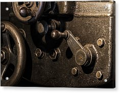 The Way Back Machine Acrylic Print by Andrew Pacheco