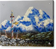 The Way North Acrylic Print