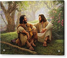The Way Of Joy Acrylic Print by Greg Olsen