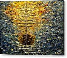 The Way Of Light Acrylic Print by Svetla Dimitrova