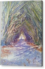 The Way Acrylic Print by Patricia Pushaw
