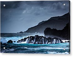 Acrylic Print featuring the photograph The Way To A New Wave by Edgar Laureano