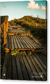The Way To The Sea Acrylic Print by Hannes Cmarits