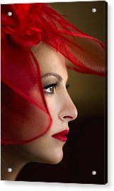 The Way You Look Tonight Acrylic Print by Evelina Kremsdorf