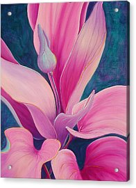 Acrylic Print featuring the painting The Way You Look Tonight by Sandi Whetzel