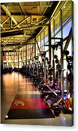 The Weight Room - Washington State University Acrylic Print