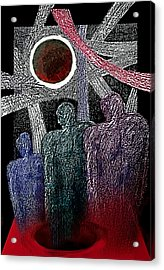 The Well Of Despair Acrylic Print by Hartmut Jager