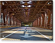 The Wells Street Bridge Acrylic Print by John Babis