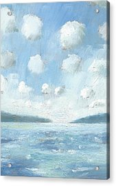 The Western Solent Part Two Acrylic Print by Alan Daysh