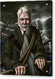 The Whaler Acrylic Print by Mark Zelmer