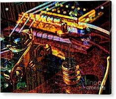 The Whammy Digital Guitar Art By Steven Langston Acrylic Print by Steven Lebron Langston