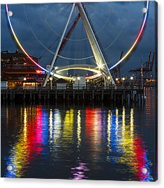 The Wheel Acrylic Print
