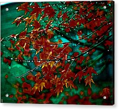 The Whispering Leaves Of Autumn Acrylic Print