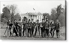 The White House Photographers Acrylic Print