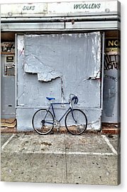 the white zone is for Blue Meenie only  Acrylic Print