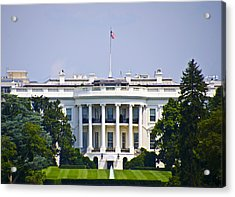 The Whitehouse - Washington Dc Acrylic Print by Bill Cannon