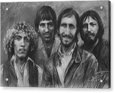 The Who Acrylic Print
