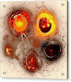 The Whole Cycle Acrylic Print by Anastasiya Malakhova