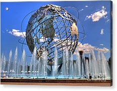 The Whole World In My Hands Acrylic Print