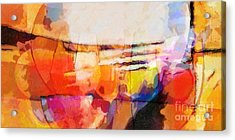 The Whole World Is Invited Acrylic Print by Lutz Baar