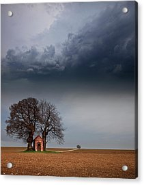 The Width Of The Alb Acrylic Print