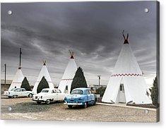 The Wigwam Motel In Holbrook Acrylic Print