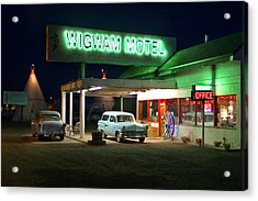 The Wigwam Motel On Route 66 2 Acrylic Print