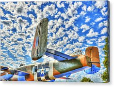 The Wild Blue Yonder 2 Acrylic Print by Mel Steinhauer