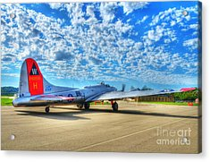 The Wild Blue Yonder Acrylic Print by Mel Steinhauer