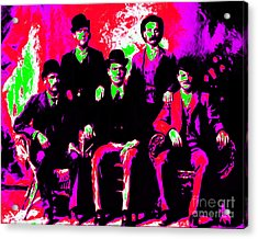 The Wild Bunch 20130212 Acrylic Print by Wingsdomain Art and Photography