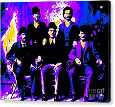 The Wild Bunch 20130212m68 Acrylic Print by Wingsdomain Art and Photography