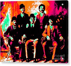 The Wild Bunch 20130212p38 Acrylic Print by Wingsdomain Art and Photography