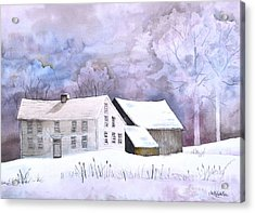 The Wilder Homestead Acrylic Print by Sally Rice