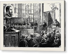 The Wimbledon Poisoning Case Trial Of Dr Acrylic Print