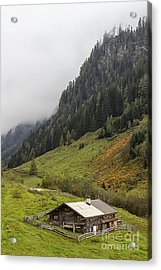 The Wimmertal In Tirol Acrylic Print
