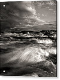 The Wind And The Sea Acrylic Print by Bob Orsillo
