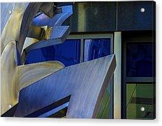 The Wind Acrylic Print by Raymond Kunst