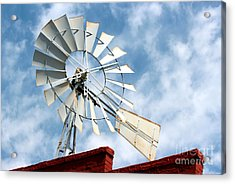 The Wind Wheel Acrylic Print by Kathy  White