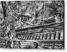 The Winding Stairs Acrylic Print