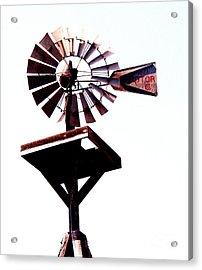 The Windmill Acrylic Print by Avis  Noelle