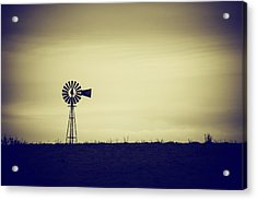 The Windmill Acrylic Print by Karol Livote