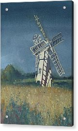 The Windmill Acrylic Print