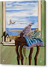 The Window Has A View Acrylic Print