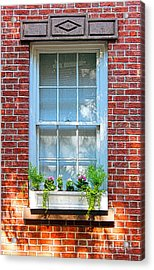 The Window In The Afternoon Acrylic Print